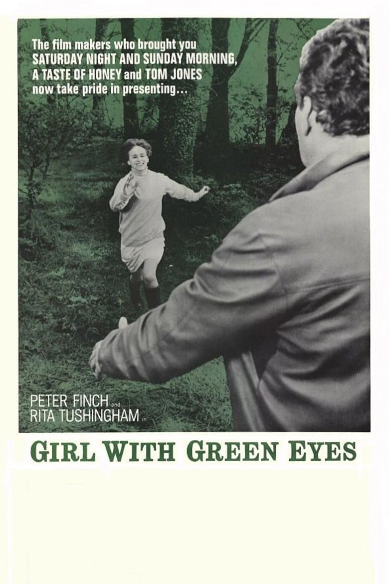Girl with Green Eyes Poster