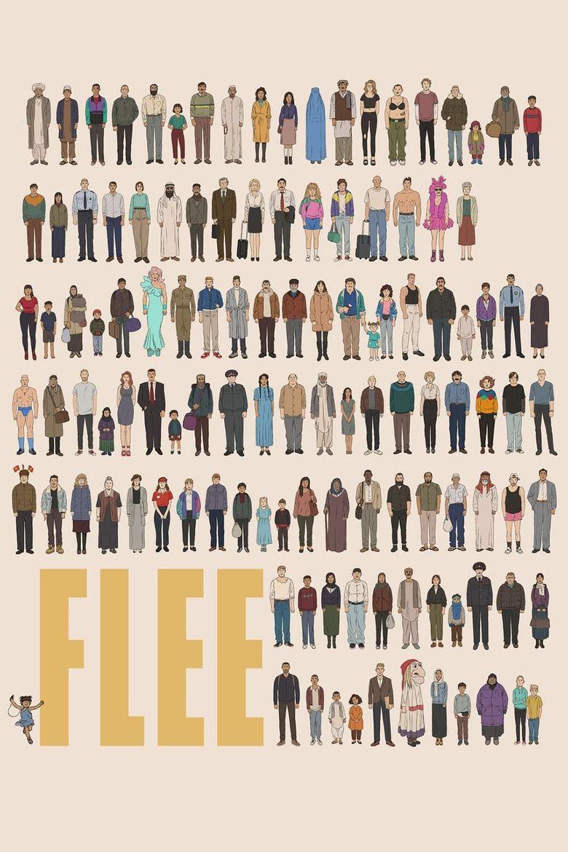 Flee Poster