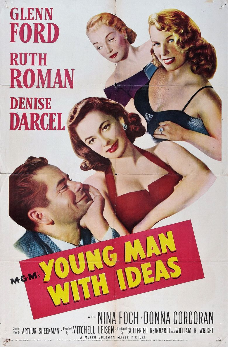 Young Man with Ideas Poster