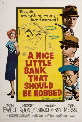 A Nice Little Bank That Should Be Robbed Poster