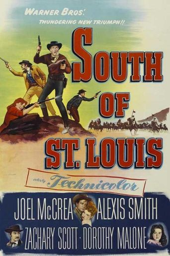 South of St. Louis Poster