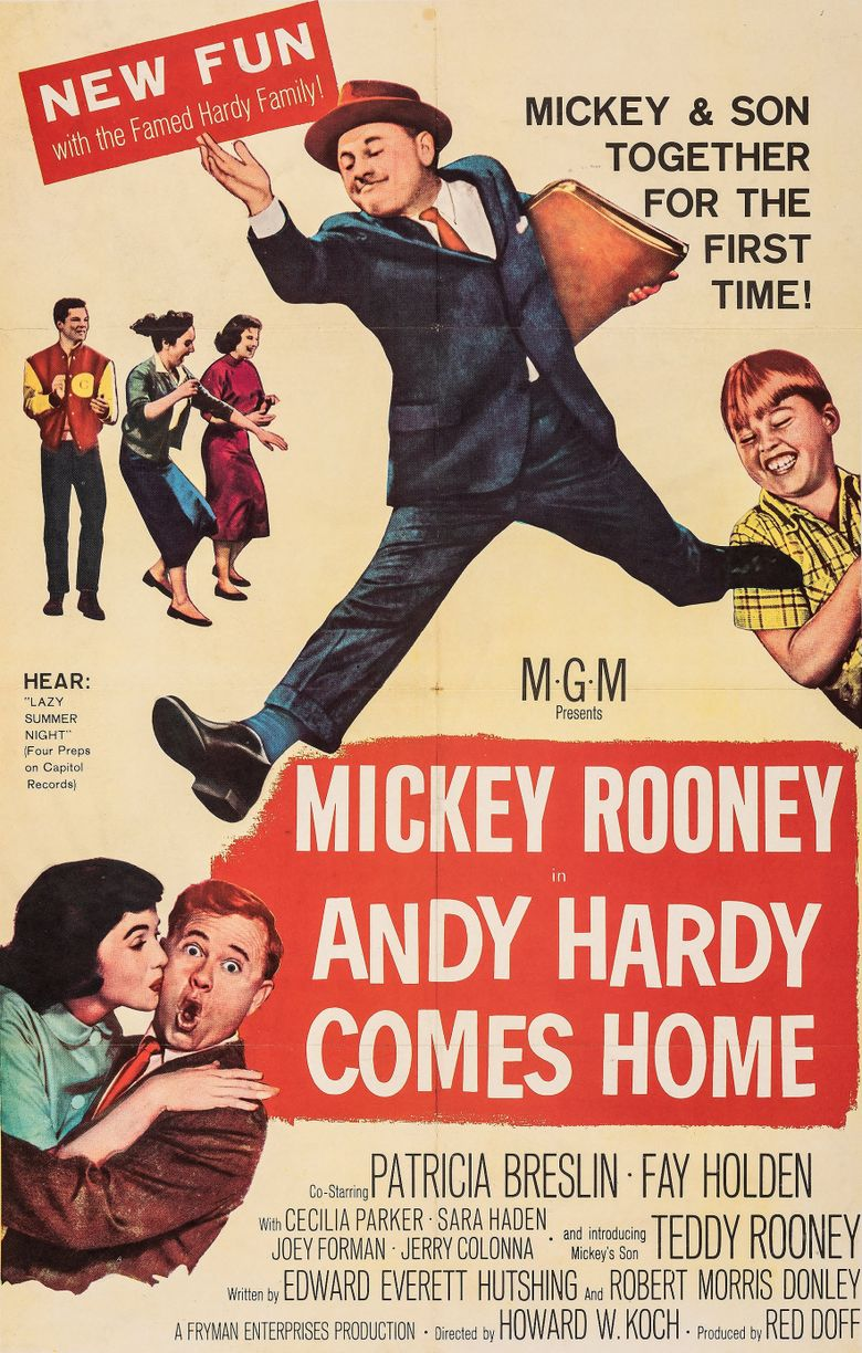 Andy Hardy Comes Home Poster