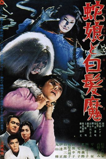 The Snake Girl and the Silver-Haired Witch Poster
