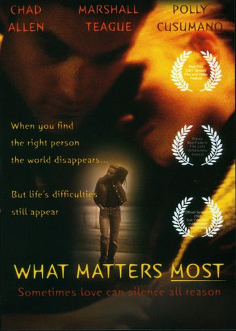 What Matters Most Poster