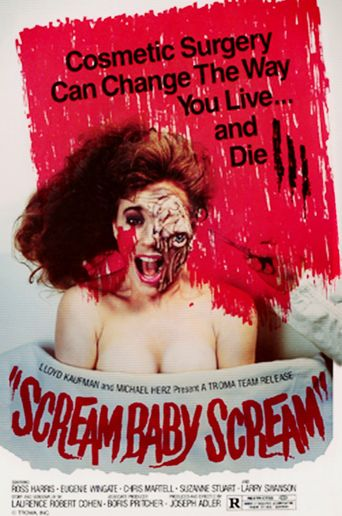 Scream Baby Scream Poster