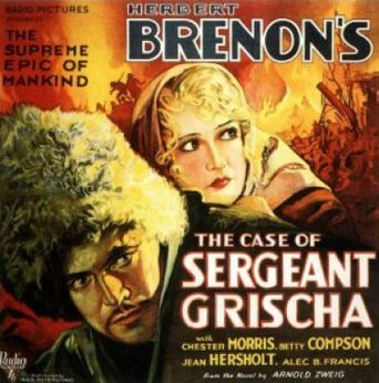 The Case of Sergeant Grischa Poster