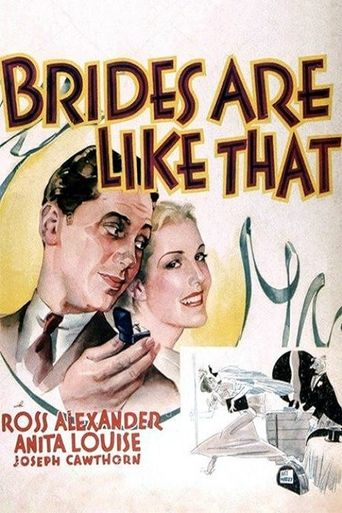 Brides Are Like That Poster