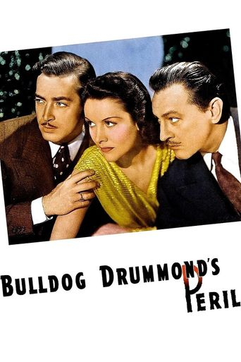 Bulldog Drummond's Peril Poster