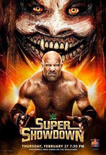 WWE Super ShowDown 2020 Poster