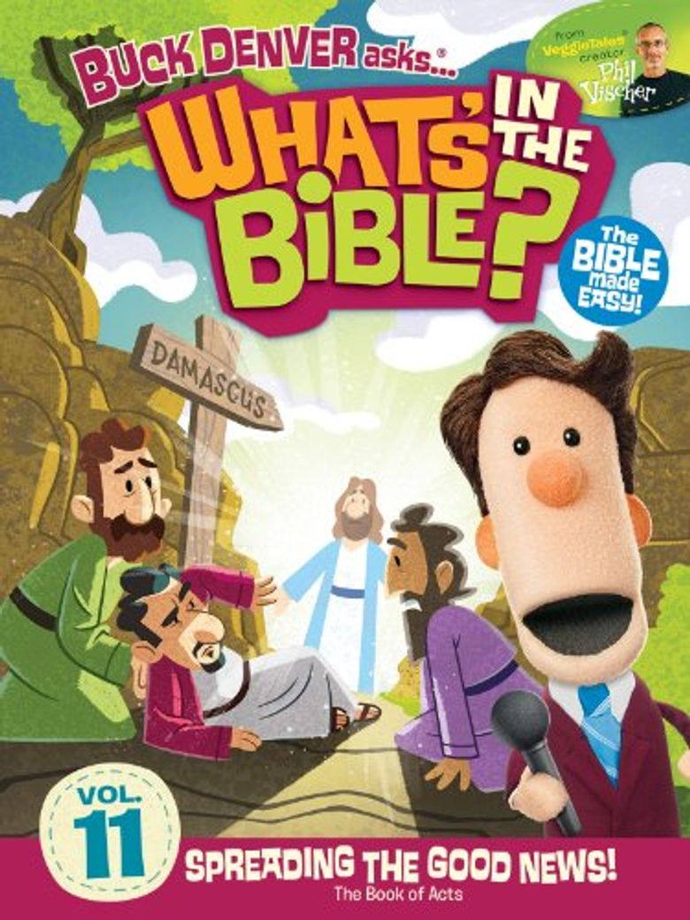 What's in the Bible? Volume 11: Spreading the Good News! Poster