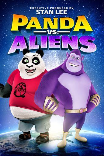 Panda vs. Aliens Poster