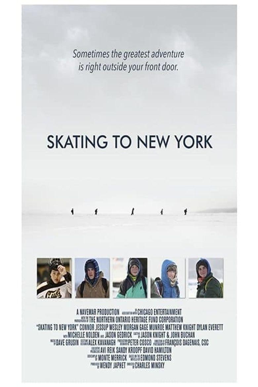 Skating to New York Poster