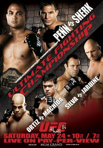 UFC 84: Ill Will Poster