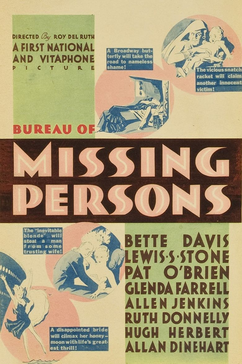 Bureau of Missing Persons Poster