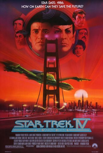 Star Trek IV: The Voyage Home Poster