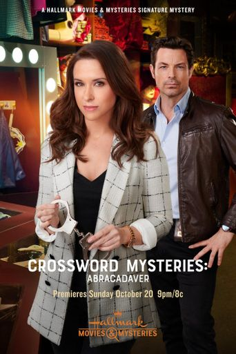 Crossword Mysteries: Abracadaver Poster