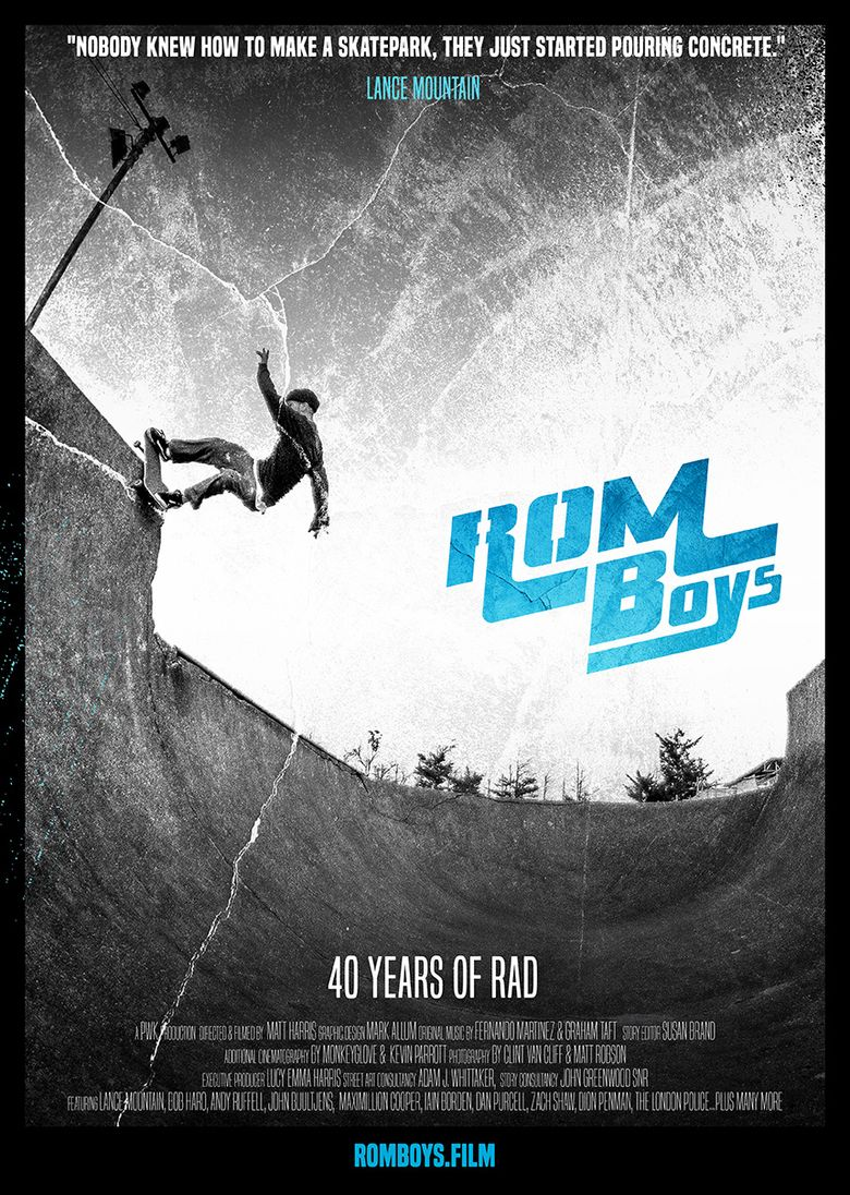 Rom Boys: 40 Years of Rad Poster