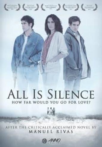 Todo es silencio Poster