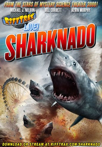 RiffTrax Live: Sharknado Poster