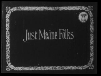 Just Maine Folks Poster
