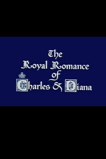 The Royal Romance of Charles and Diana Poster