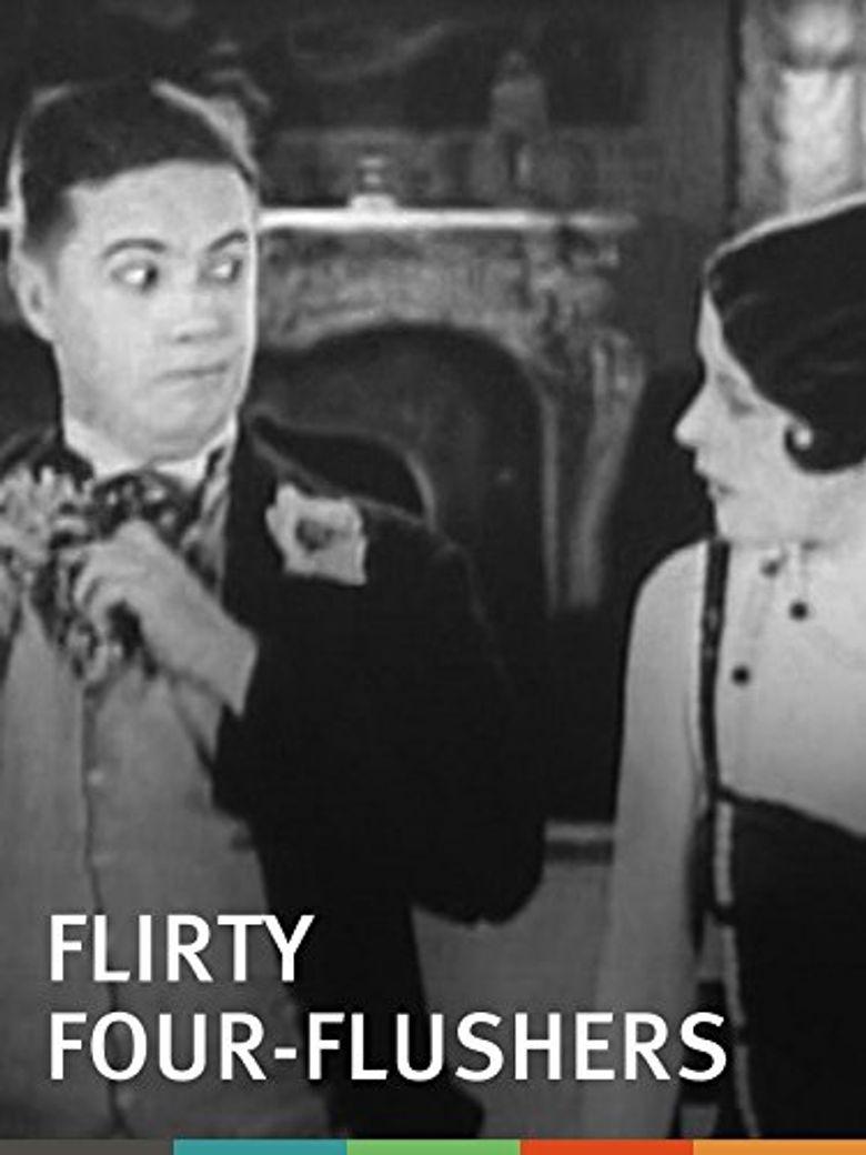 Flirty Four-Flushers Poster