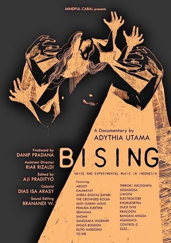 Bising: Noise & Experimental Music in Indonesia Poster