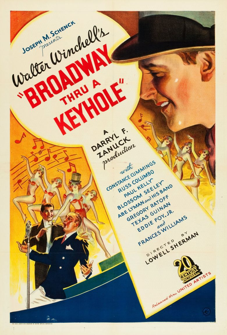 Broadway Thru a Keyhole Poster
