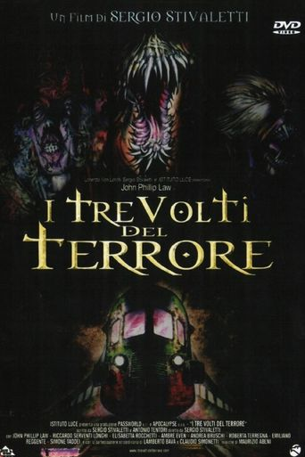 The Three Faces of Terror Poster