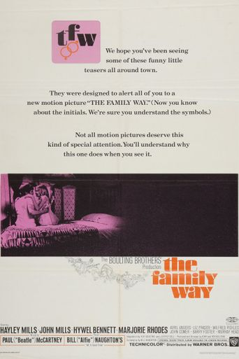 The Family Way Poster
