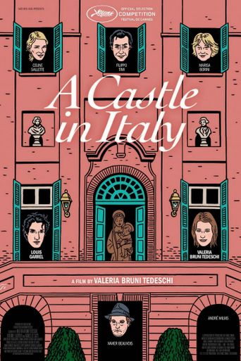 A Castle in Italy Poster