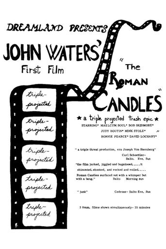 Roman Candles Poster