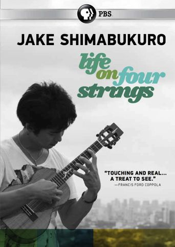 Jake Shimabukuro: Life on Four Strings Poster