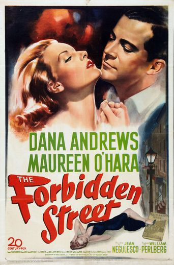The Forbidden Street Poster