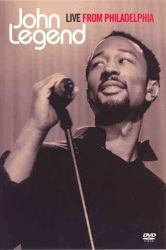 John Legend Live from Philadelphia Poster