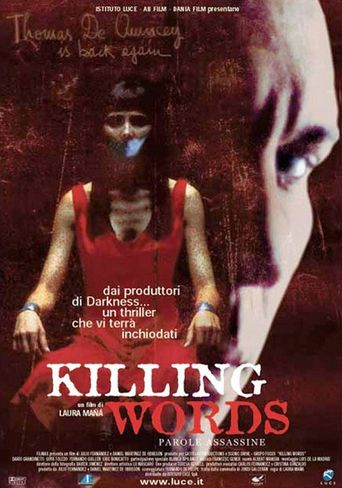 Killing Words Poster