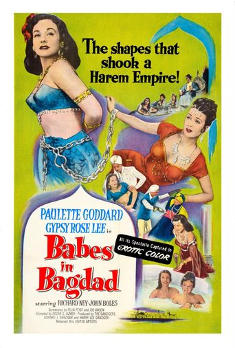 Babes in Bagdad Poster