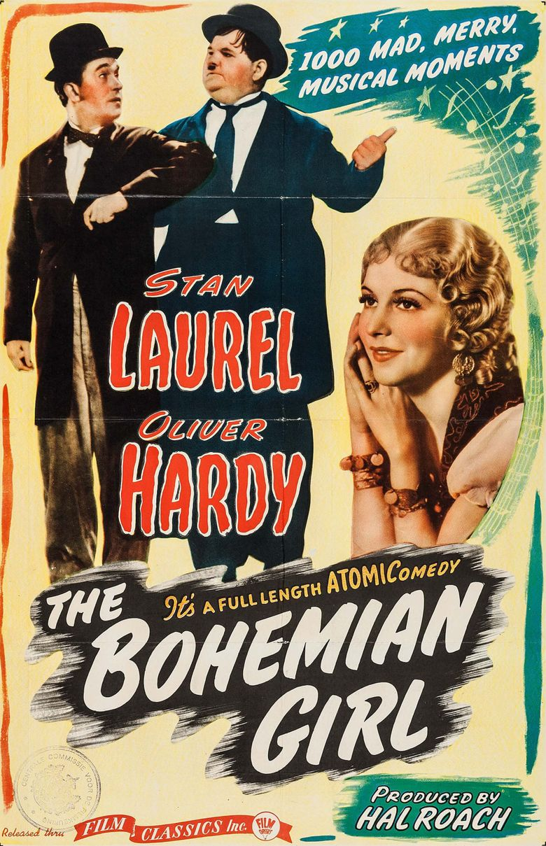 The Bohemian Girl Poster