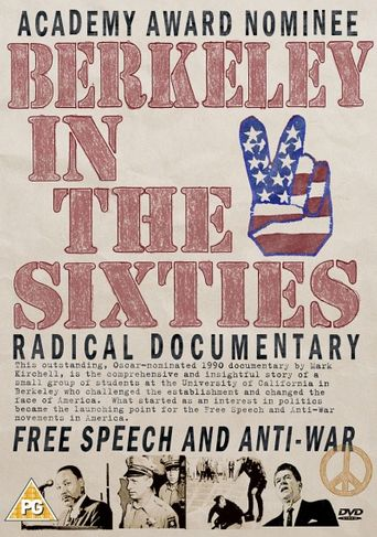 Berkeley in the Sixties Poster