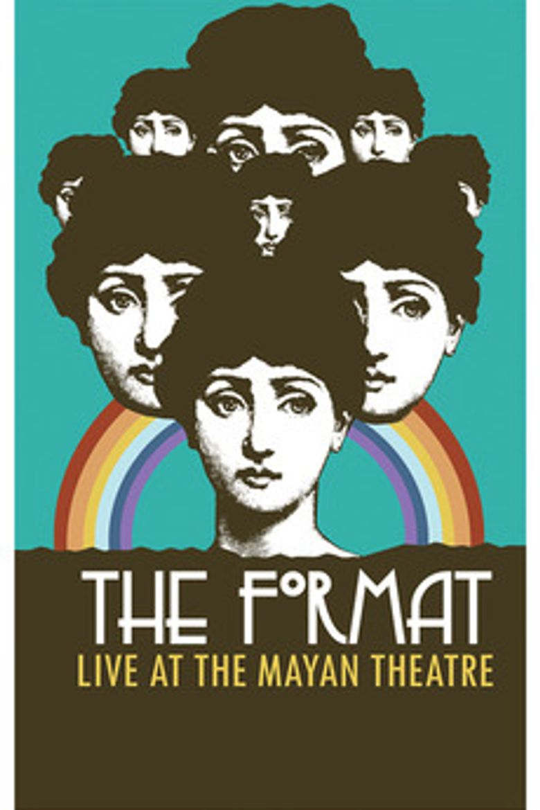 The Format: Live at the Mayan Theatre Poster