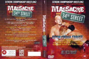 ECW Massacre on 34th Street Poster