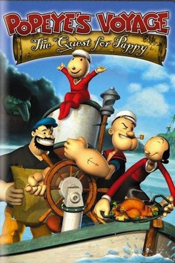 Popeye's Voyage: The Quest for Pappy Poster