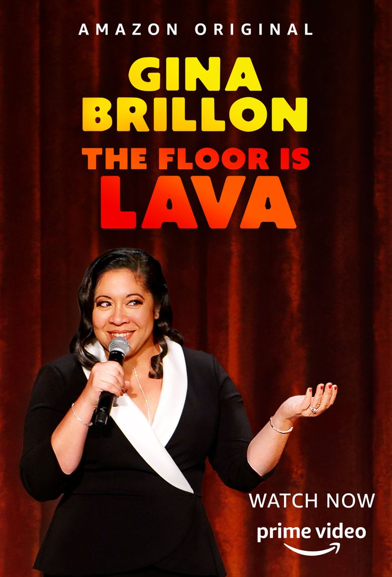 Gina Brillon: The Floor Is Lava Poster