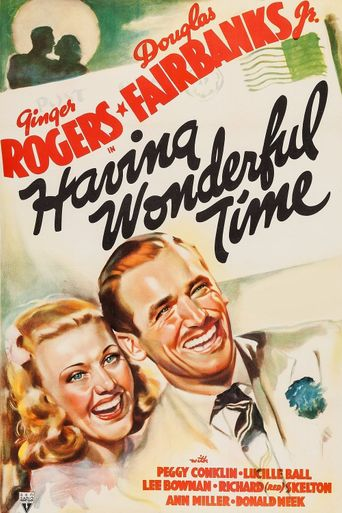 Having Wonderful Time Poster