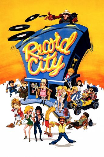 Record City Poster