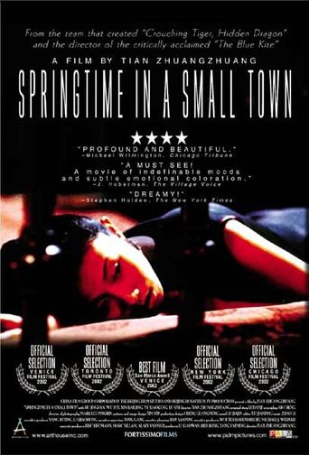 Springtime in a Small Town Poster