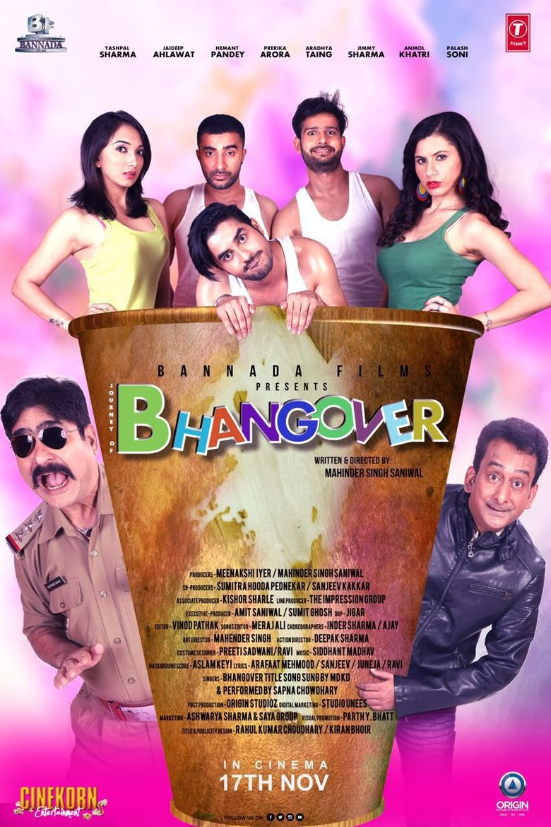 Bhangover Poster