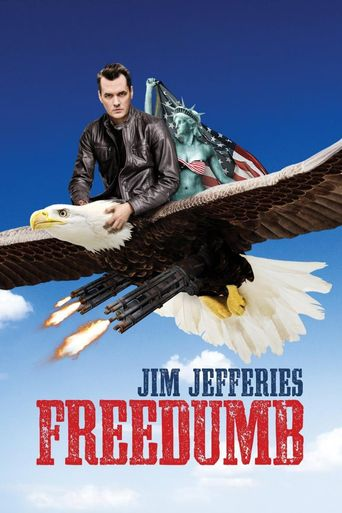 Jim Jefferies: Freedumb Poster