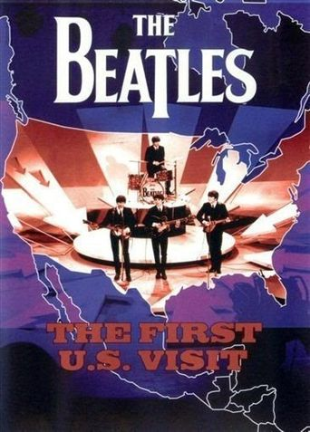The Beatles: The First U.S. Visit Poster
