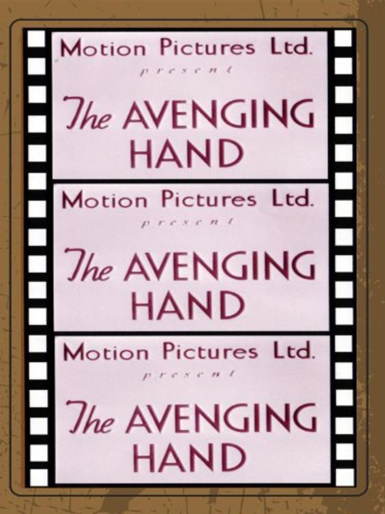 The Avenging Hand Poster